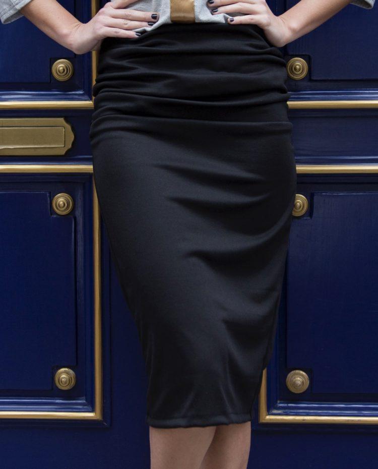Black Cheri skirt