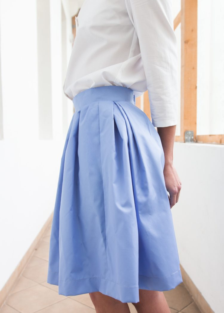 skirt Platinum Blue