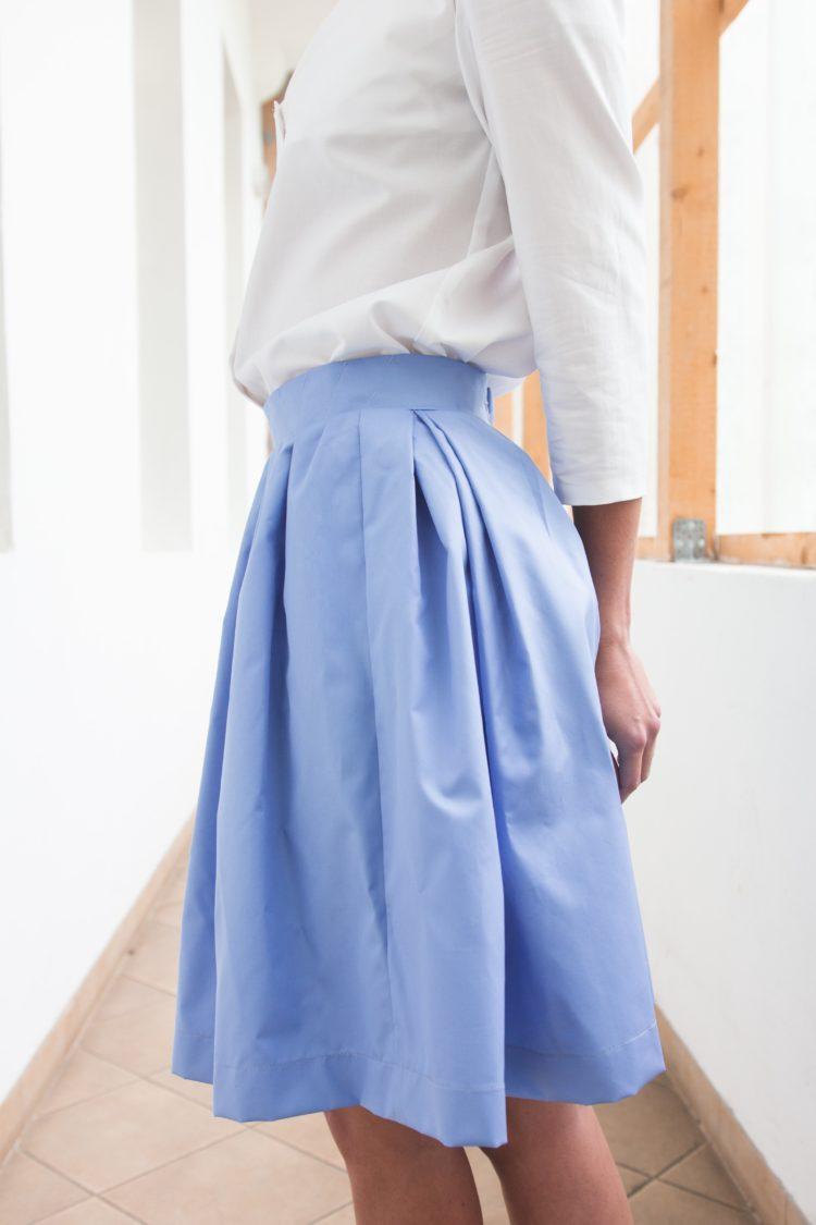 sukně modrá PLATINUM