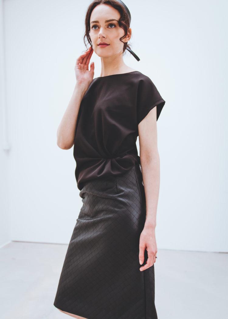 kožená sukně TULIP