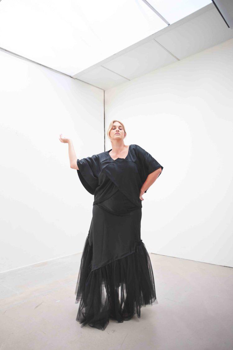 #GREENCARPET dlouhé šaty plus size SARTOR