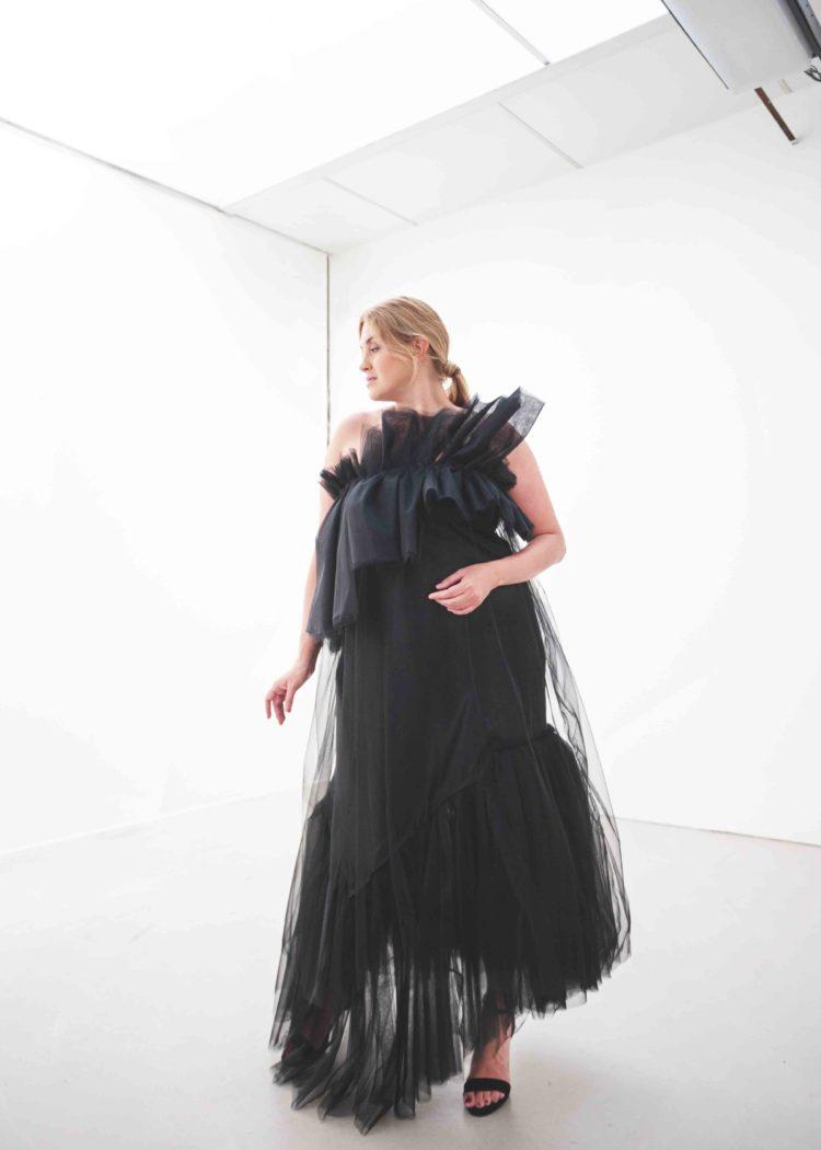 #GREENCARPET dlouhé šaty tyl plus size SARTOR